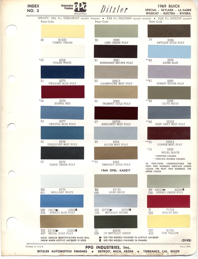 1969 ford mustang paint color chart car interior design for White chip paint color
