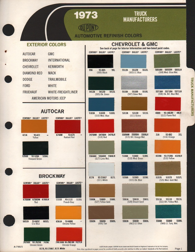 All Gm Paint Colors Chart 2017 2018 Best Cars Reviews