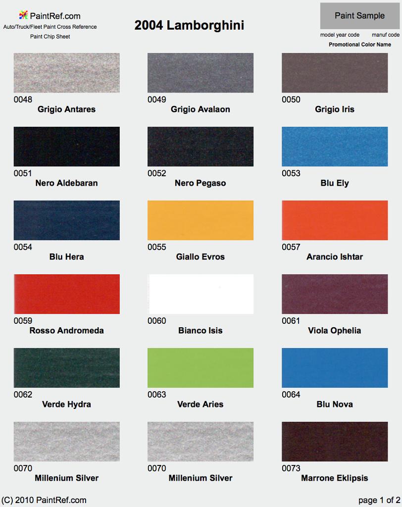 lamborghini color codes 28 images zero paints paint lamborghini miura p400 sv lamborghini. Black Bedroom Furniture Sets. Home Design Ideas