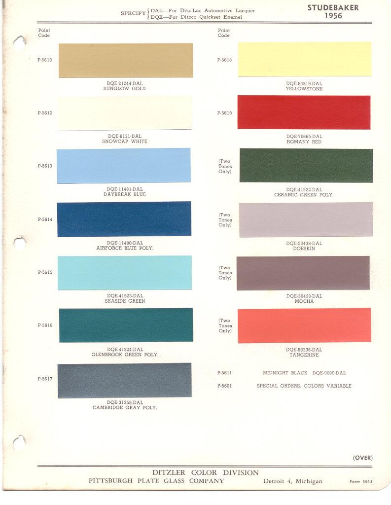 Page 1: 1956 Studebaker