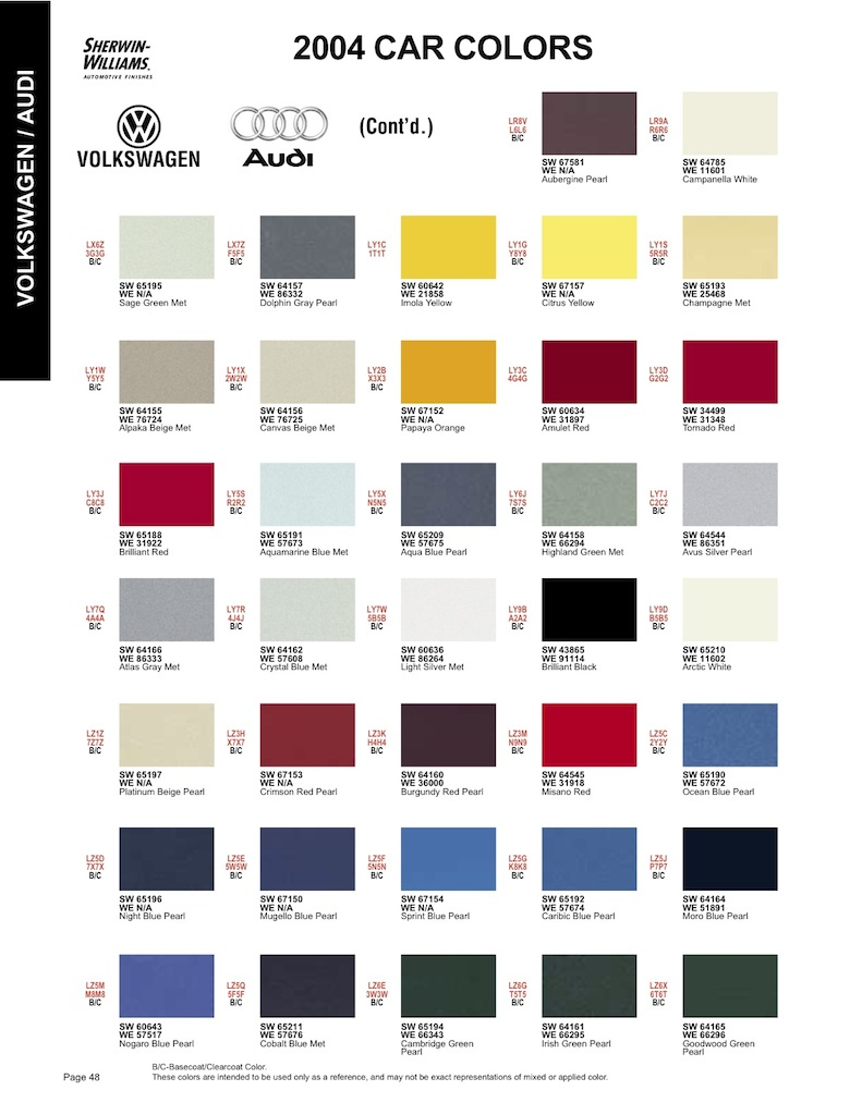 Matthews paint color chart foto bugil bokep 2017 for Lrv paint color chart