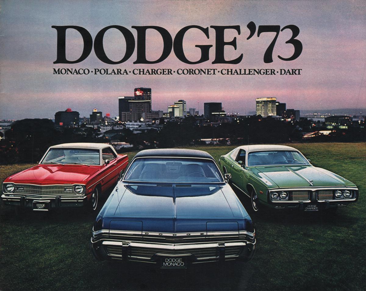 2016 Dodge Charger Rallye >> Chrysler 1973 Dodge Sales Brochure