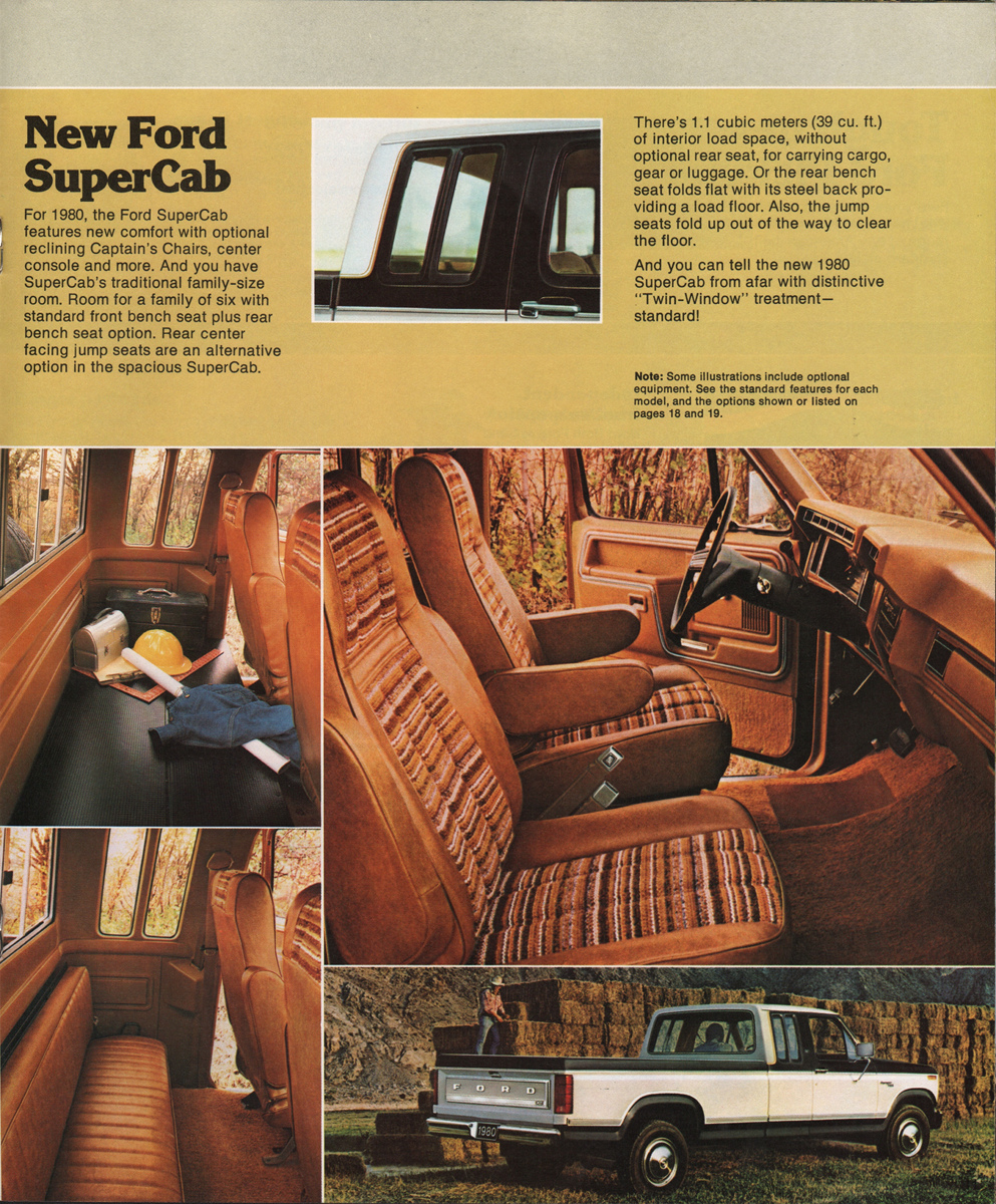 1980 Pickup Ford Truck Sales Brochure Bronco Jumping Company Marks Emblems And Designs Are Trademarks Or Service Of Please Respect The Time It Took To Acquire These Brochures
