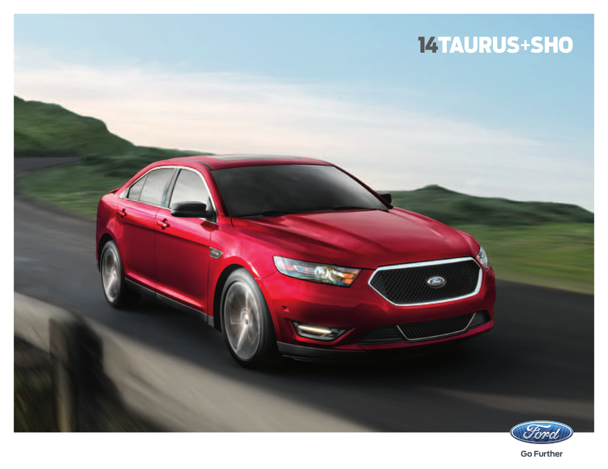 Ford 2014 Taurus Sales Brochure