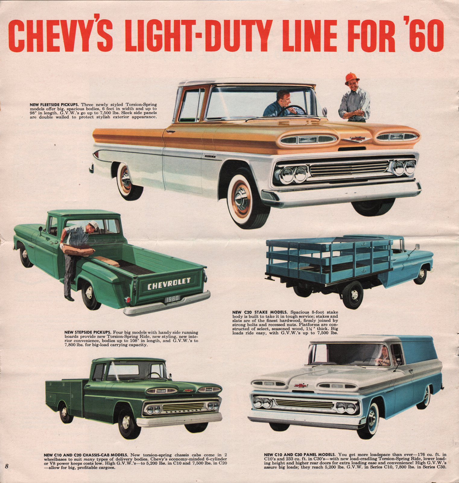 1975 Chevy Pickup Fuse Panel Circuit Wiring And Diagram Hub 85 C30 Box Gm 1960 Truck Sales Brochure 1970 1985
