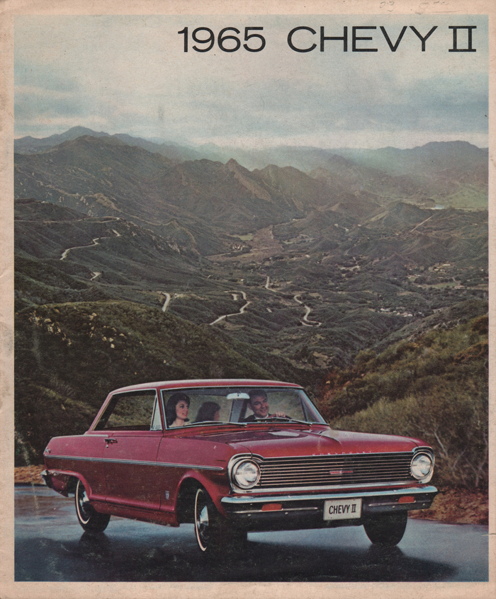 GM 1965 Chevrolet ChevyII Sales Brochure