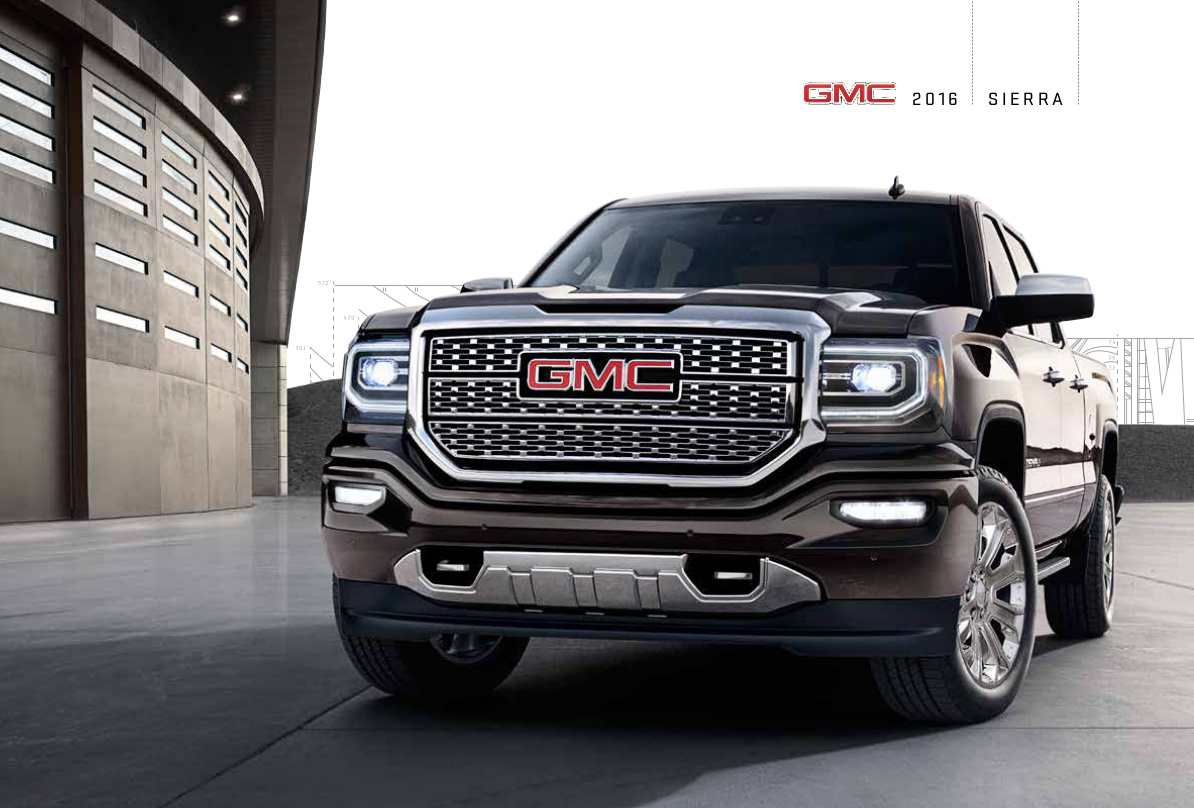 GM 2016 GMC Sierra Sales Brochure