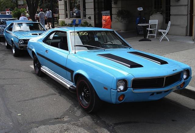 Big Bad Blue 1969 AMC