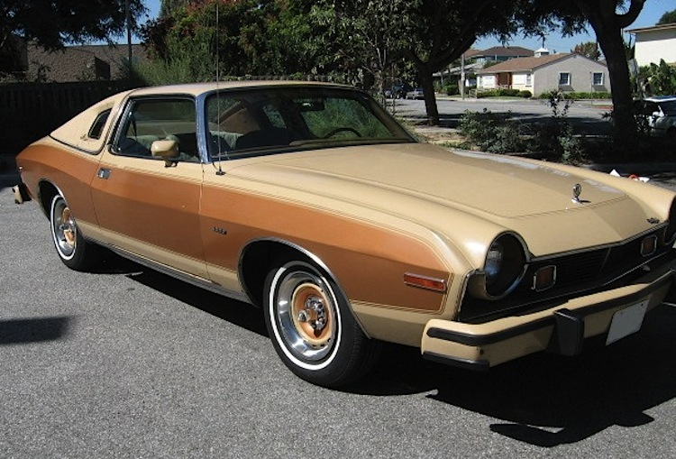 Sand Tan 1977 AMC  Barcelona with Golden Ginger