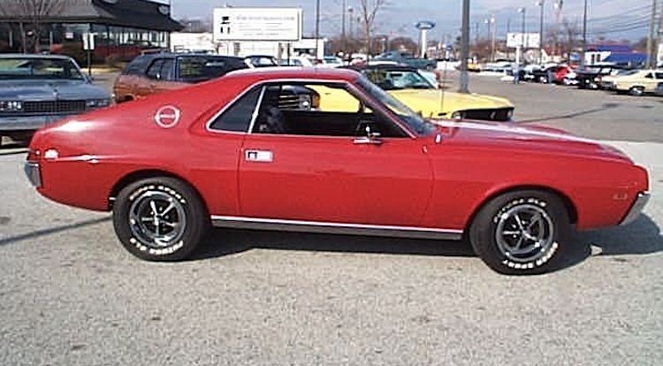 Matador Red 1968 AMC AMX