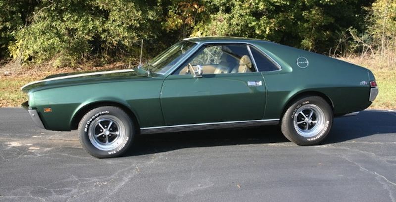 Hunter Green 1969 AMC AMX
