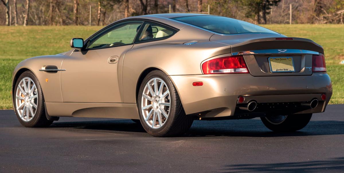 Glengarry Gold 2005 Aston Martin  Vanquish S