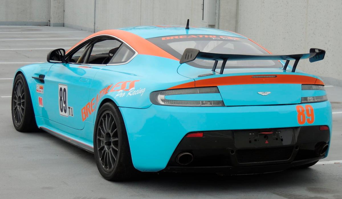 2012 Aston Martin  Vantage GT4 Race Car