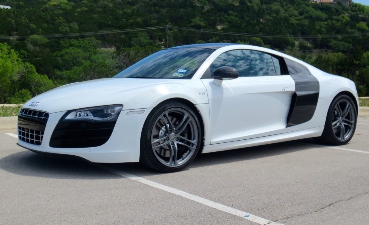 Audi A Ibis White Paint Code