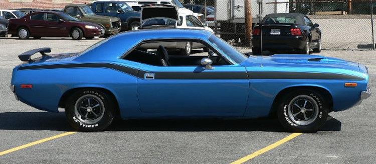 True Blue 1972 Chrysler Plymouth Barracuda