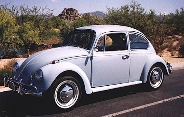 Zenith Blue 1967 Volkswagen Beetle