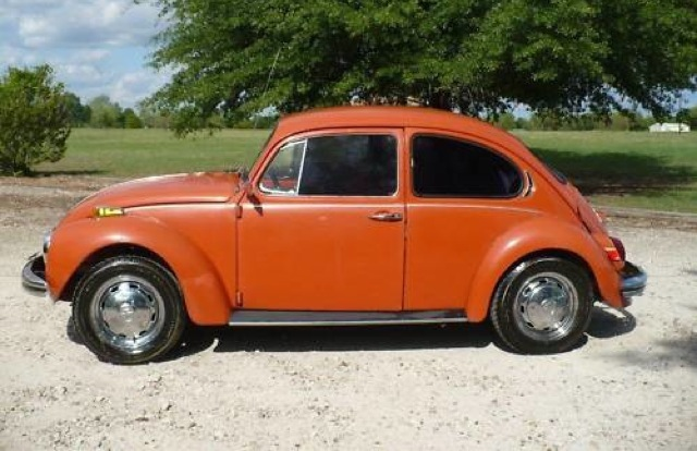 Clementine Orange 1971 Volkswagen Beetle