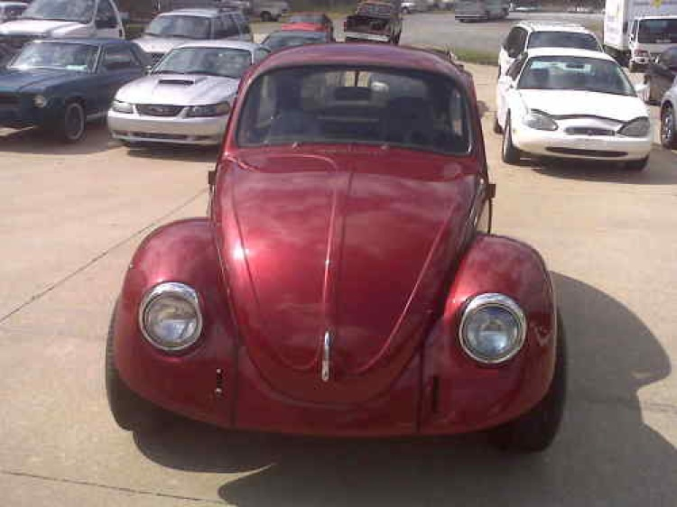 Colorado Red 1972 Volkswagen Beetle