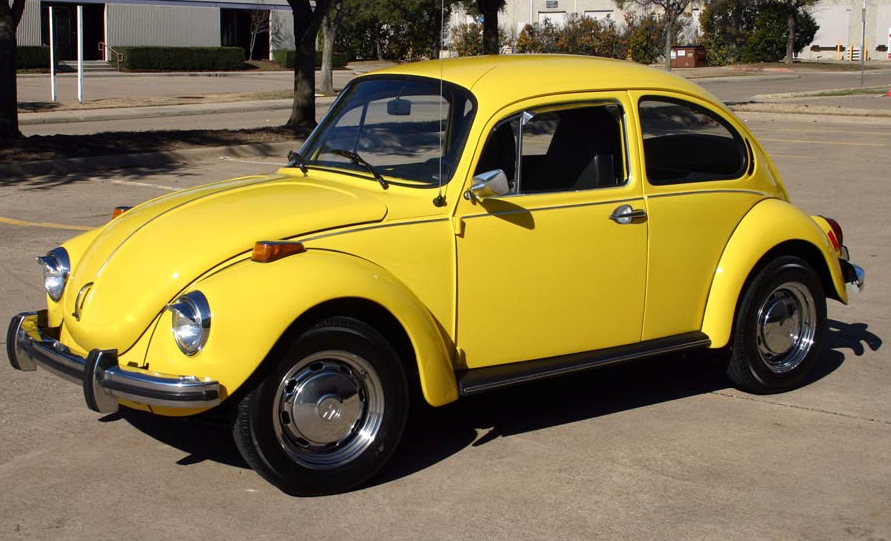 saturn yellow 1973 beetle paint cross reference. Black Bedroom Furniture Sets. Home Design Ideas