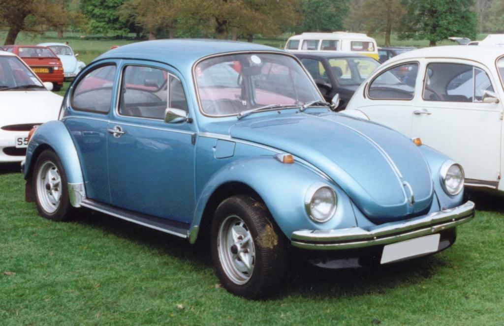 Ontario Blue 1974 Volkswagen Beetle