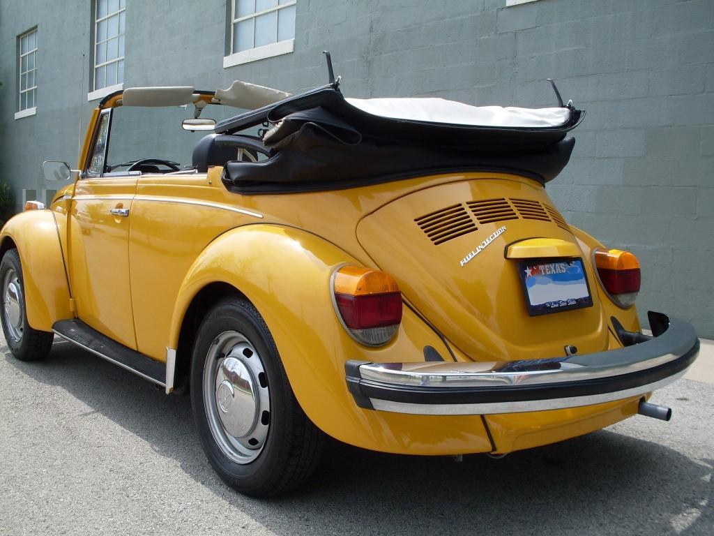 Marino Yellow 1977 Volkswagen