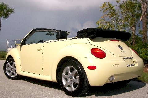 mellow yellow  beetle convertible paint cross reference