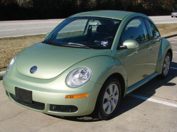Volkswagen Beetle Green