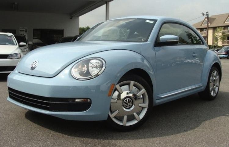 Denim Blue 2017 Volkswagen Beetle