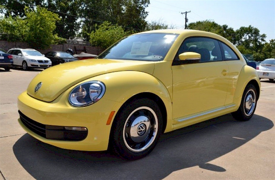 volkswagen beetle yellow. Black Bedroom Furniture Sets. Home Design Ideas