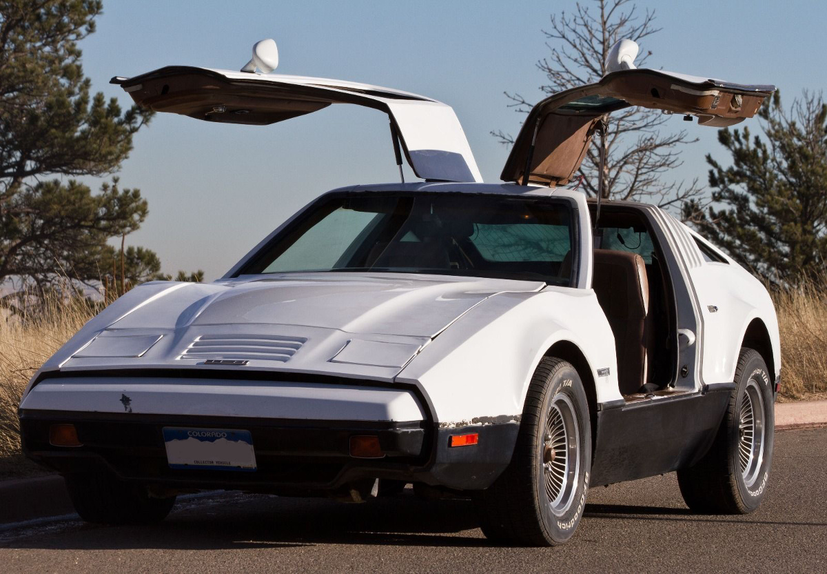 Safety White 1974 Bricklin  SV1