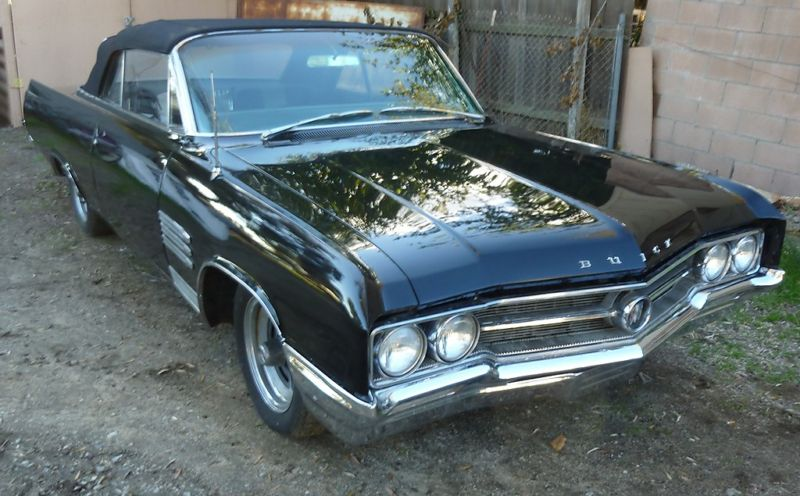 Regal Black 1964 GM Buick Wildcat