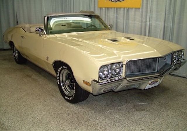 Bamboo Cream 1970 Buick GS 455