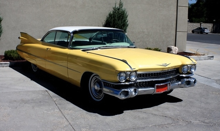 Gotham Gold 1959 Cadillac - Paint Cross Reference