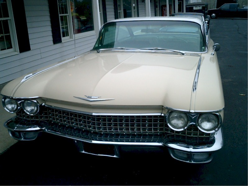 Beaumont Beige 1960 Cadillac Deville Paint Cross Reference