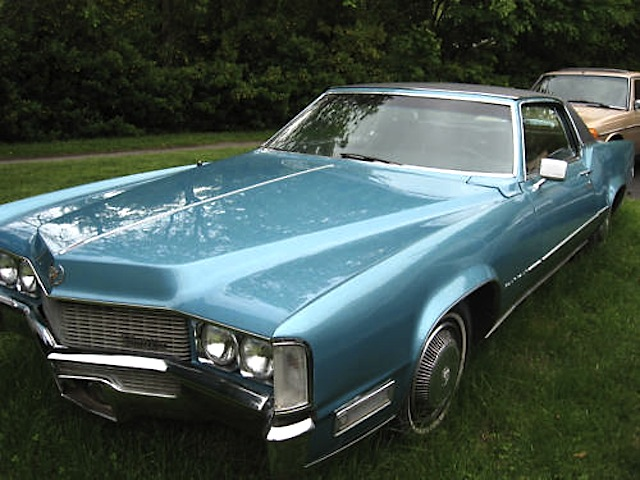 Persian Aqua 1969 Cadillac Eldorado