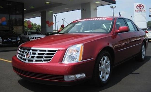 Crimson Pearl 2006 Cadillac DTS