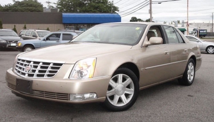 Light Cashmere 2006 Cadillac DTS