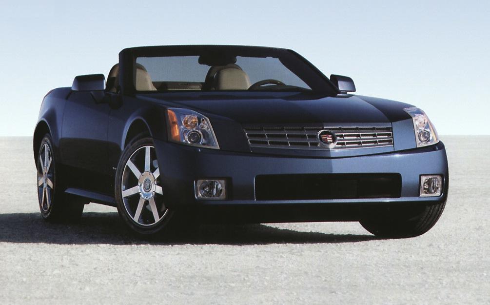 Xenon Blue 2006 Cadillac XLR