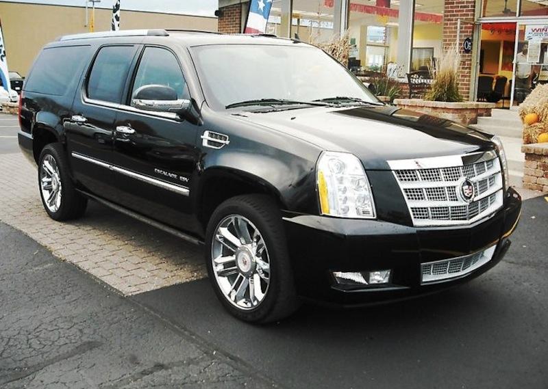 Raven Black 2008 Cadillac Escalade