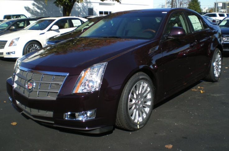 Black Cherry 2010 Cadillac Paint Cross Reference