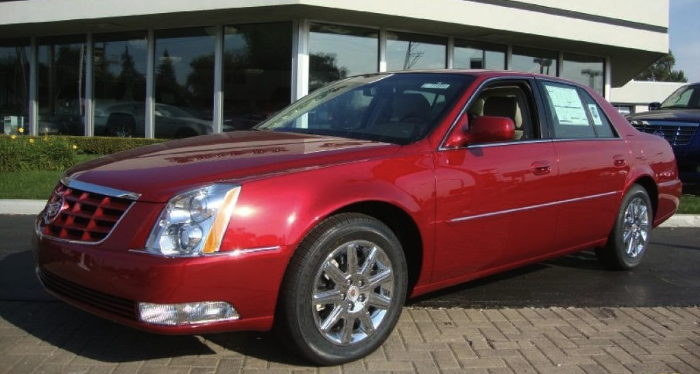 Crystal Red 2011 GM Cadillac 