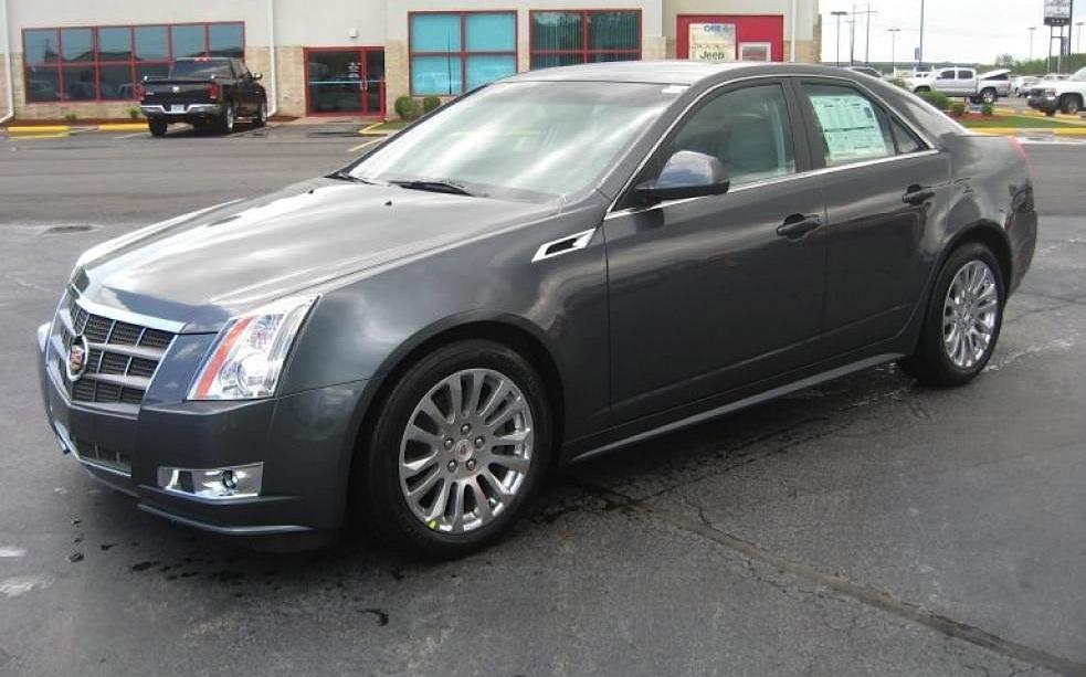 Thunder Gray 2011 Cadillac CTS