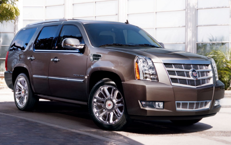 Mocha Steel 2013 GM Cadillac Escalade