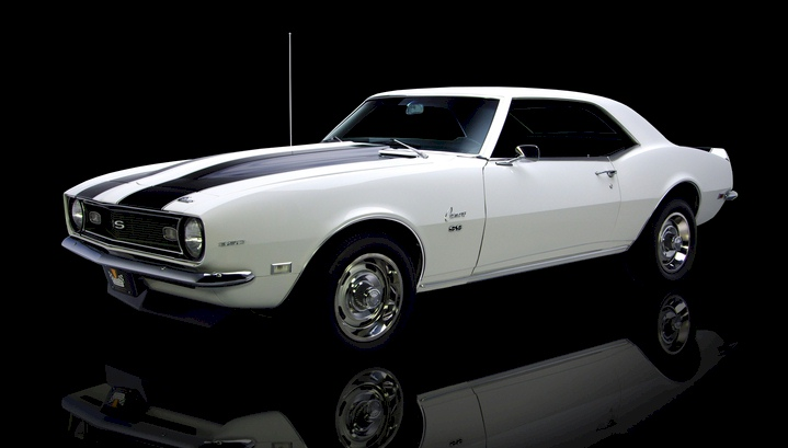 Ermine White 1968 GM Camaro