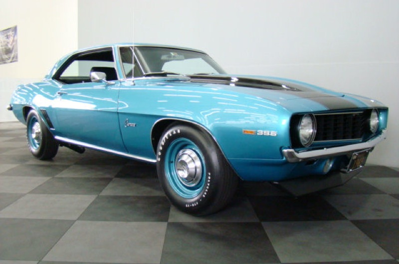 Azure Turquoise Camaro Paint Cross Reference - 1969 camaro paint codes colors