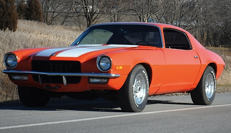Hugger Orange 1970 GM Chevrolet Camaro