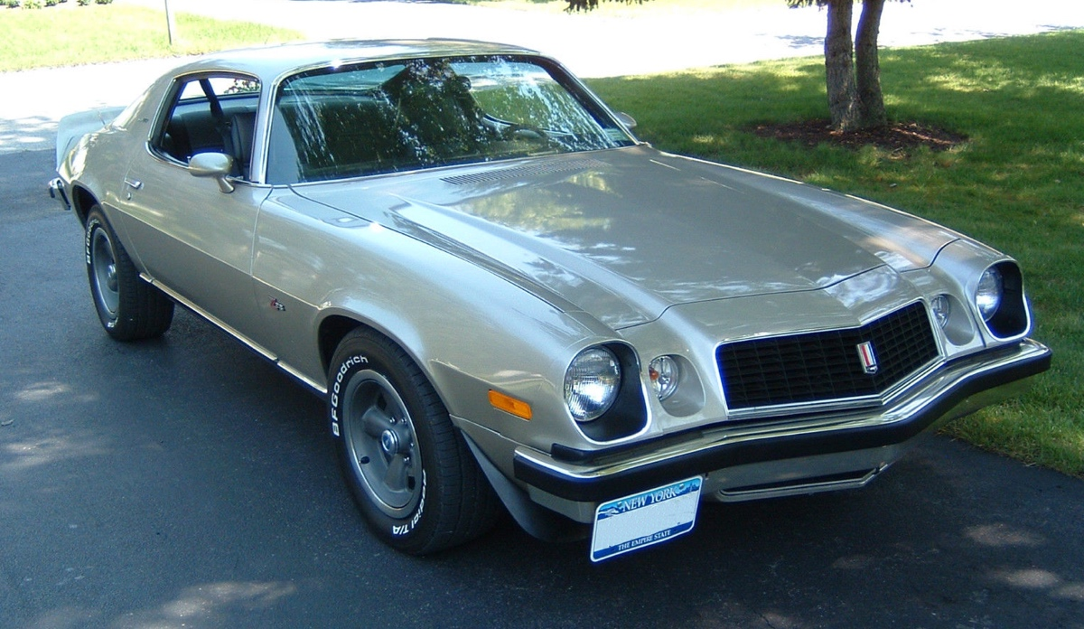 Silver 1974 GM Chevrolet Camaro - Paint Cross Reference