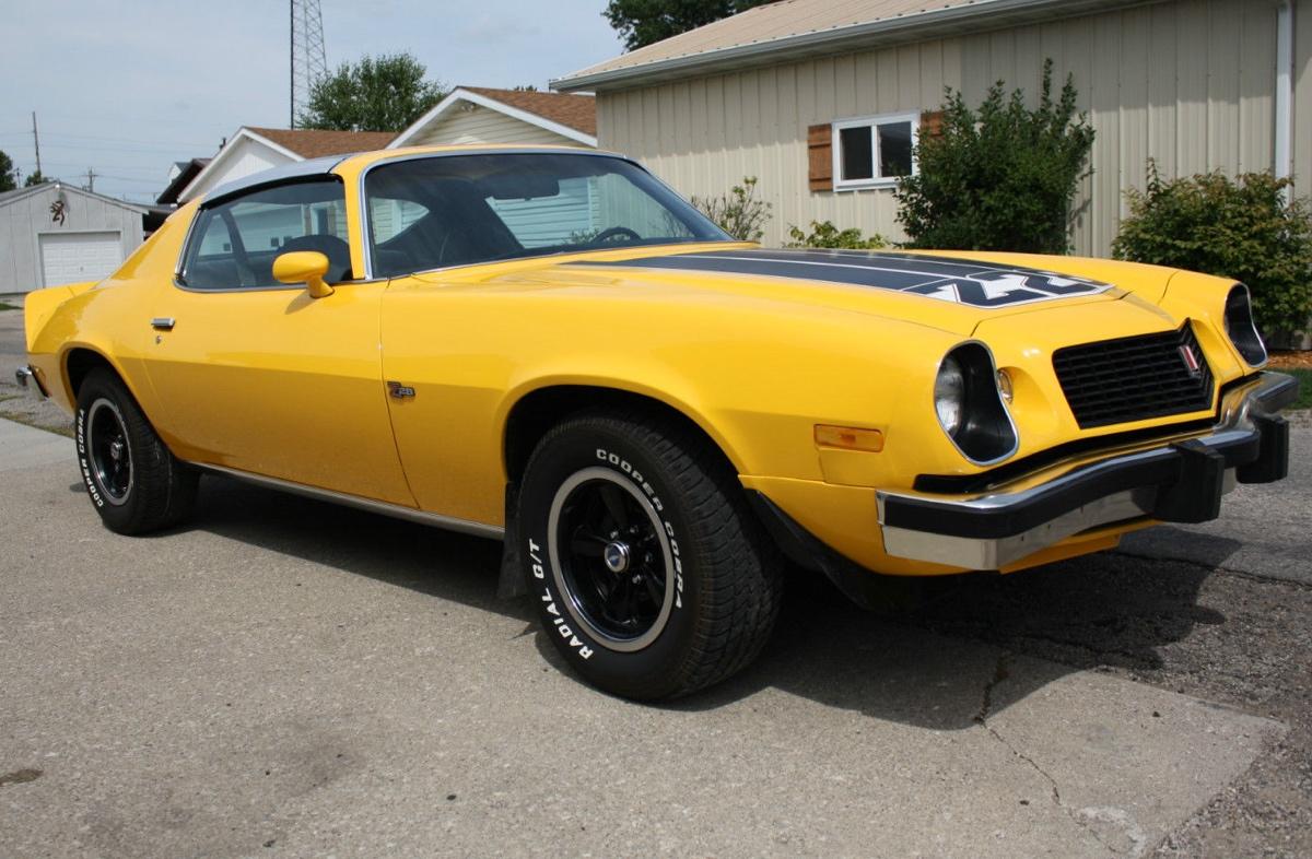 Bright Yellow 1974 Camaro Paint Cross Reference