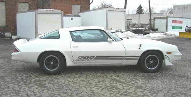 White 1981 GM Chevrolet Camaro Z28 Coupe