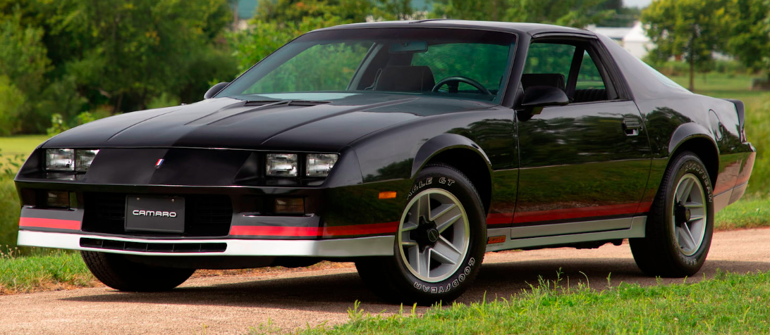 Black 1982 GM Chevrolet Camaro